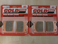 SUZUKI GSXR 750 (GR75A) GSXR750   SINTERED FRONT BRAKE PADS (2 pair) *GOLDFREN