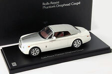 Rolls Royce Phantom Drophead Coupe Year Of Construction 2012 english white 1:43