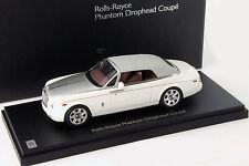 Rolls royce phantom drophead coupé año de construcción 2012 inglés blanco 1:43 Kyosho