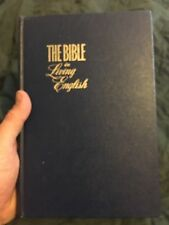 Bible In Living English Jehovah's Witness Watchtower Jesus God Christ