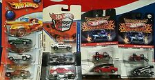 Hot Wheels lot of 10 with real riders Holiday, Drag Strip Demons & more