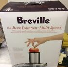 Breville RM JE98XL Fountain Plus Juice Maker Juicer Extractor Juicing Machine