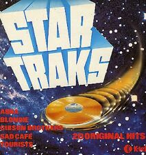 VARIOUS Star Traks 1980 UK K-Tel Vinyl LP EXCELLENT CONDITION Blondie Sparks