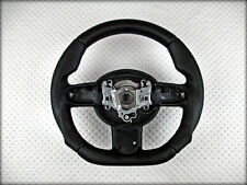 Custom BMW MINI cooper STEERING WHEEL R50 R51 R52 R53 Flat Bottom Thick volante