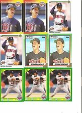18 CARD GERMAN GONZALEZ BASEBALL CARD LOT           96