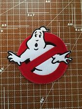 "Ghostbusters No Ghosts Logo Screen Accurate  4"" Embroid Patch-FREE S&H US BUYER"