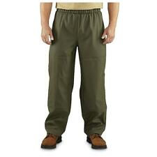 Carhartt Men's Olive Green Medford Waterproof Rain Work Hunting Pants New NWT XL
