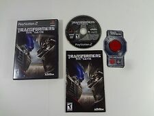Transformers: The Game Sony PlayStation 2 PS2 COMPLETE TESTED AND WORKING