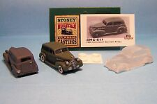 SMC-611 1936 Chevy Delivery Panel   1/87th-HO Scale Clear Resin  (unfinished)