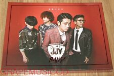 JUNG JOON YOUNG JJY BAND 일탈다반사 K-POP CD + GUITAR PICK + POSTER IN TUBE CASE NEW