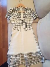 Herve Leger by Max Azria new with tags size small ruffle hem dress