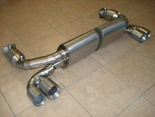 Porsche 996 TT Twin Turbo & GT2 00-05 Top Speed Titanium Exhaust Systems Cat