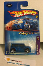 Scion xB  #53 * Blue Kmart * 2005 Hot Wheels * J8