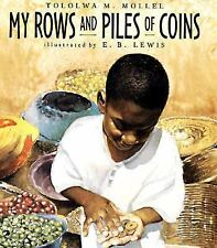 MY ROWS AND PILES OF COINS BY MOLLEL HCDJ 1ST EDITION 1ST PRINT FREE SHIPPING