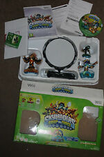 NINTENDO Wii SKYLANDERS SWAP FORCE BASE GAME + POWER PORTAL + 3 FIGURES BOXED
