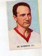 [RCI] FIGURINA LAMPO CALCIATORI 1958/59 BARI N°31 DE ROBERTS