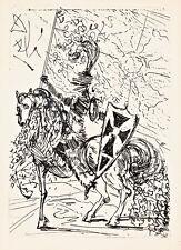 El Cid A2+ by Salvador Dali High Quality Canvas Print