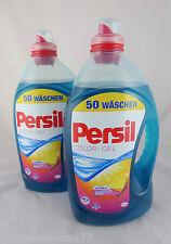 2x Persil COLOR- GEL / 2 x 50 Wäschen / 2 x 3,650 Liter ~ 7,300 Liter