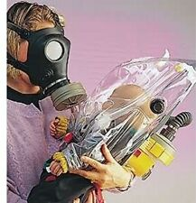 Israeli Infant Gas Mask Escape Hood With NBC filter & Air pressure unit