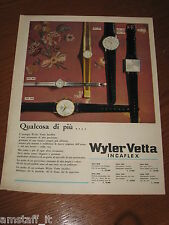 AI4=1963=WYLER VETTA INCAFLEX OROLOGIO WATCH=PUBBLICITA'=ADVERTISING=WERBUNG=