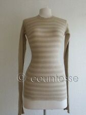 NEW RICK OWENS FINEST HONEYCOMB SWEATER DRESS RO322