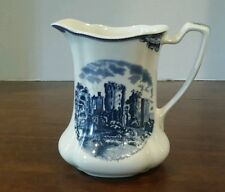 Johnson Brothers Old Britain Castles Blue Pitcher Ragland