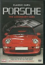 CLASSIC CARS; PORSCHE THE LEGENDARY CARS DVD + PORCHE'S PROUD RACING HISTORY