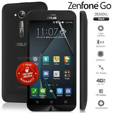 "New Unlocked ASUS Zenfone GO ZB500KL Black 5"" IPS LCD 4G Android Mobile Phone"