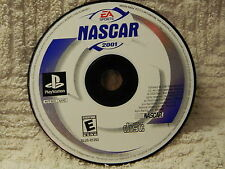 NASCAR 2001 (Sony PlayStation 1, 2000) Disc Only - Tested