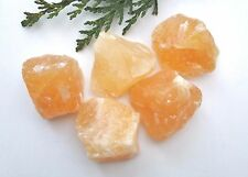 Orange Calcite Raw Natural Crystal Mineral Specimen 30-40mm