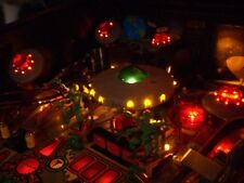 New! Bally Attack From Mars Pinball Machine Yellow / Amber LED Saucer Board