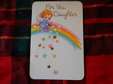 LOT OF 6 VINTAGE DAUGHTER BIRTHDAY CARLTON CARDS
