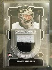 2012-13 ITG Game-Used Jersey Storm Phaneuf 12/13 Between The Pipes