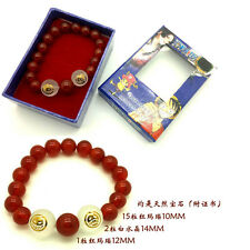 One Piece Portgas·D· Ace red agate Cosplay  Bracelets Costume Jewelry New