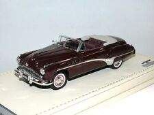 TSM Model TrueScale 1949 Buick Roadmaster Convertible Royal Maroon, 1/43