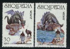 Albania Sc 2531-32 Mi 2619-20 Europa