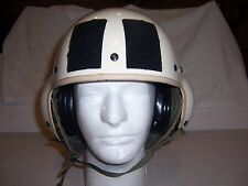 Helicopter Flight Helmet size Medium Gentex HGU39 w/ velcr for visor made USA au