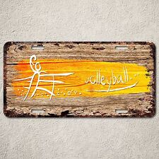 LP0263 Volleyball Sign Rustic Auto License Plate Home Room Wall Door Decor Gift