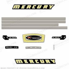 Mercury 1965 6hp Outboard Decal Kit - Reproduction Decals In Stock!