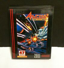 Alpha Mission 2 II Game & Box Only  For Neo Geo AES System Damaged Insert