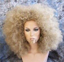 Afro Wig Gorgeous Golden Blonde Super Jumbo Wigs US Seller