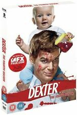 DEXTER SEASON SERIES FOUR 4 DISC BOX SET SHOWTIME UK REGION 2 2010 DVD L NEW