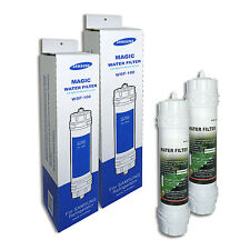 2 x Genuine Fridge Filter Samsung WSF-100 Magic Water Filter