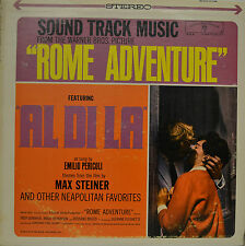 "OST - SOUNDTRACK - ROME ADVENTURE - MAX STEINER  12""  LP (M855)"