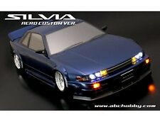 ABC HOBBY RC 1/10 SILVIA AERO CUSTOM Ver. BariBari CUSTOM!! Clear Body 66161