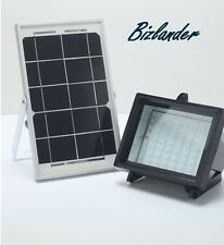2Pack Bizlander® 5W60LED Solar Flood Light for Camping, Farm, Park