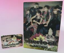 CD+DVD SHINee Sherlock JAPAN LIMITED EDITION with Group Photo card