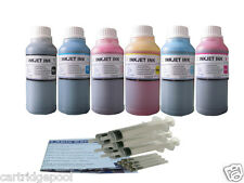 Refill ink kit for HP 02 PhotoSmart 3110 3210 3210xi 3310 3310xi D6160 6X250ML/S