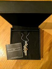 FINAL FANTASY® XIII SILVER PENDANT [LIGHTNING] (New condition, never worn)