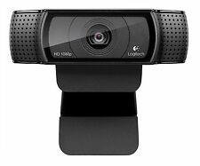 Logitech HD Pro Webcam C920 Widescreen Video Calling and Recording 1080p Came...